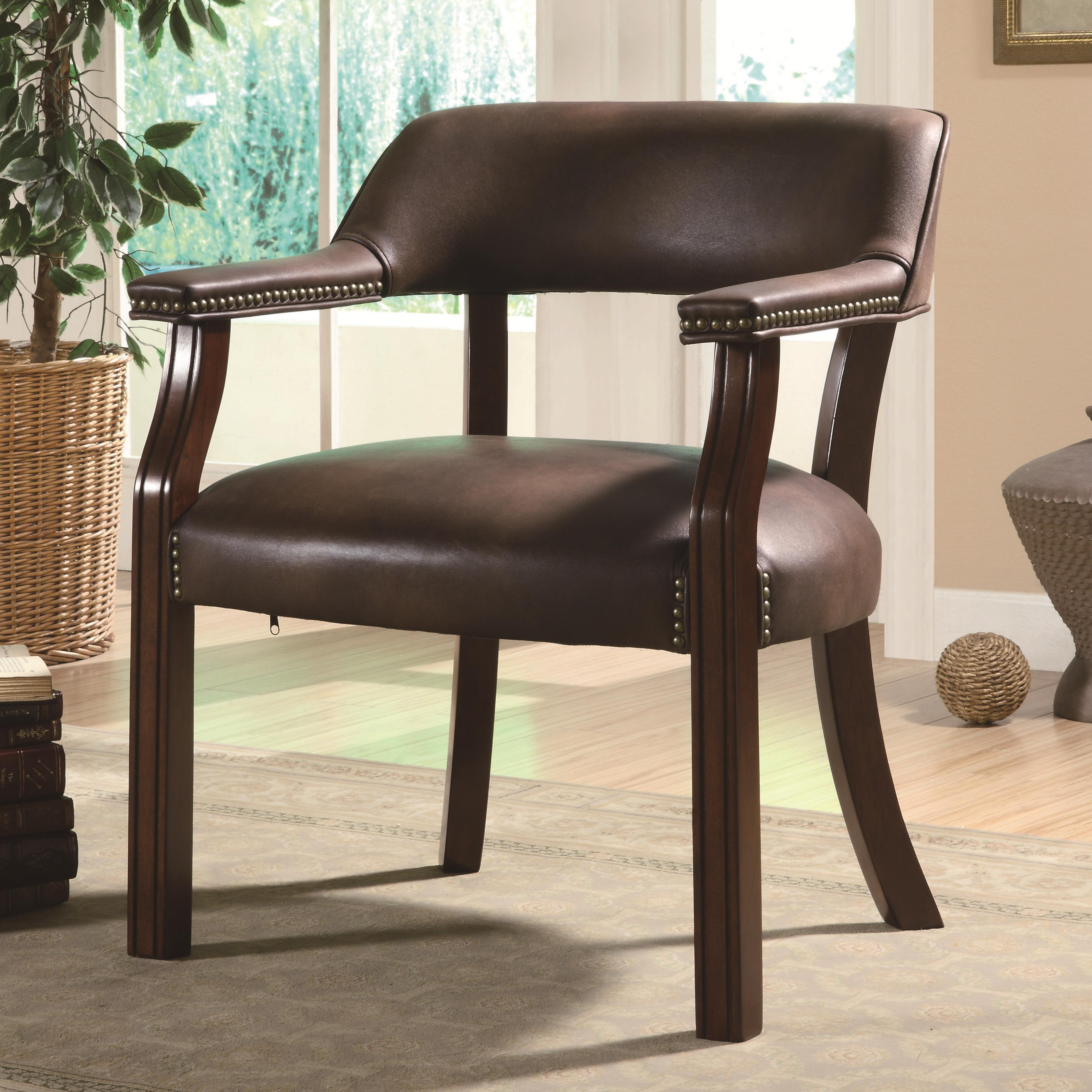 products_coaster_color_office chairs_513brn-b