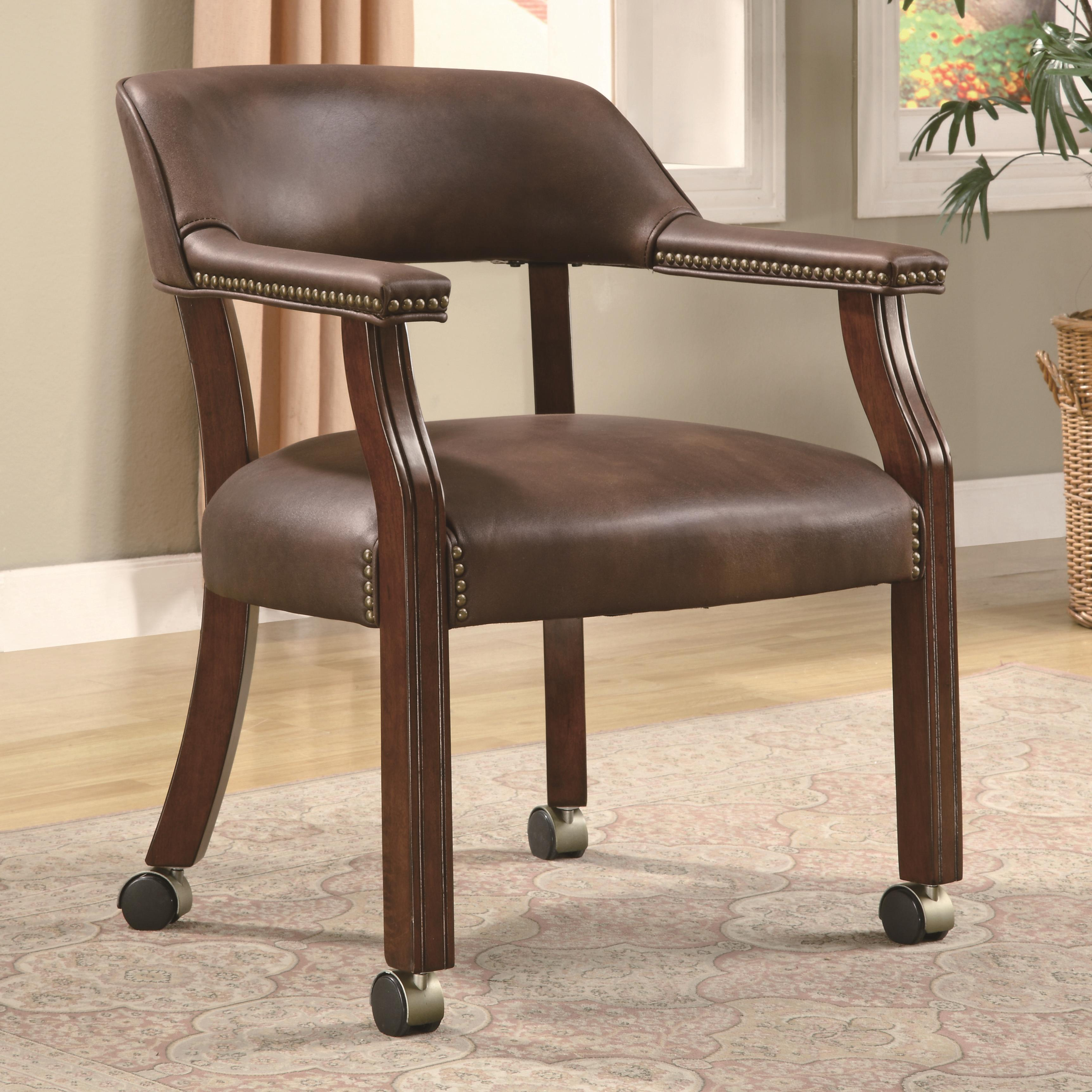 products_coaster_color_office chairs_517brn-b