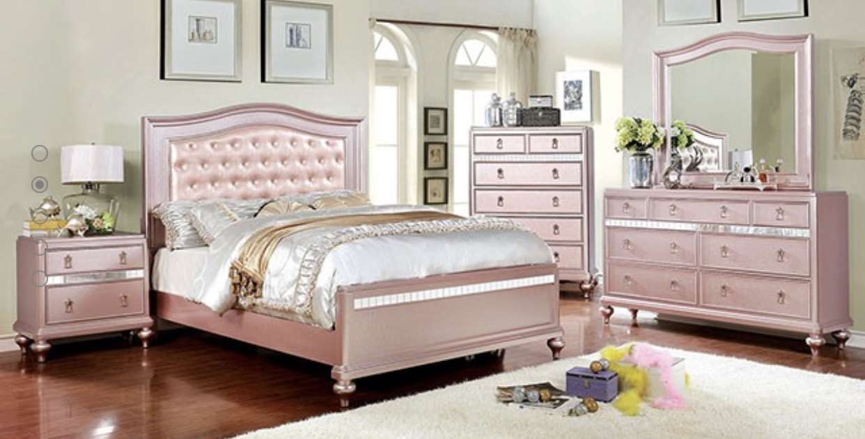 Rose Gold Bedroom Varela Mattress Amp Furniture Inc
