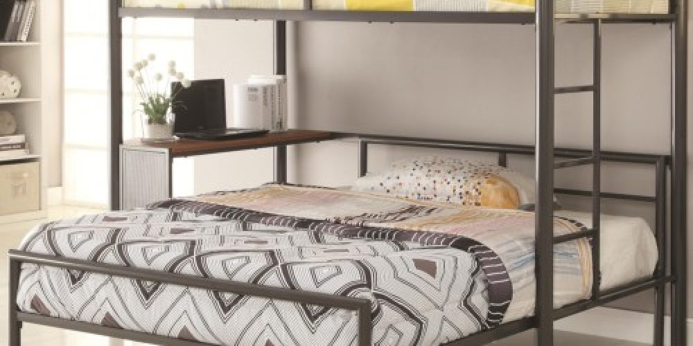 Twin Workstation Bed