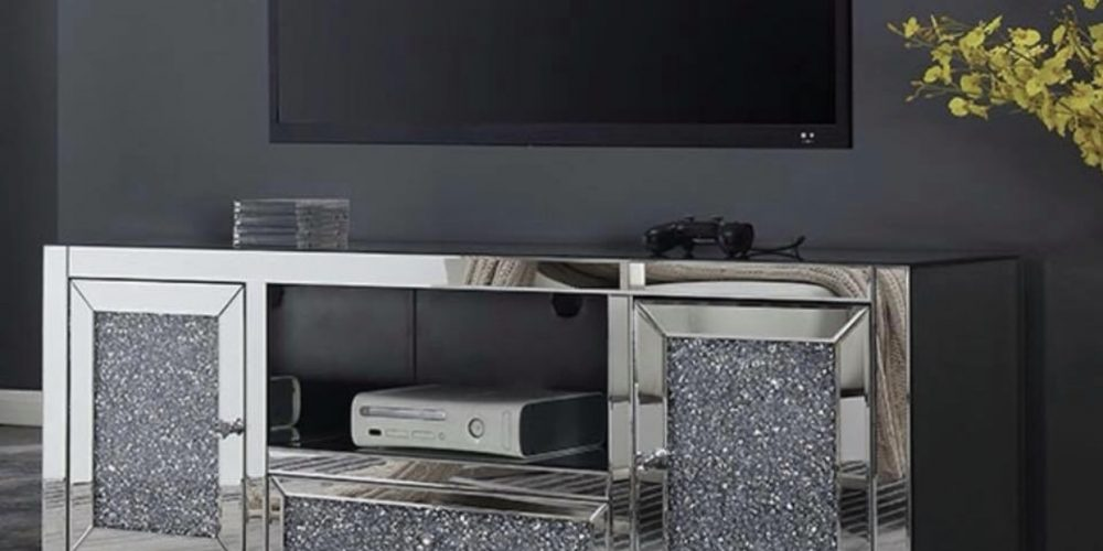 Mirror TV Stand