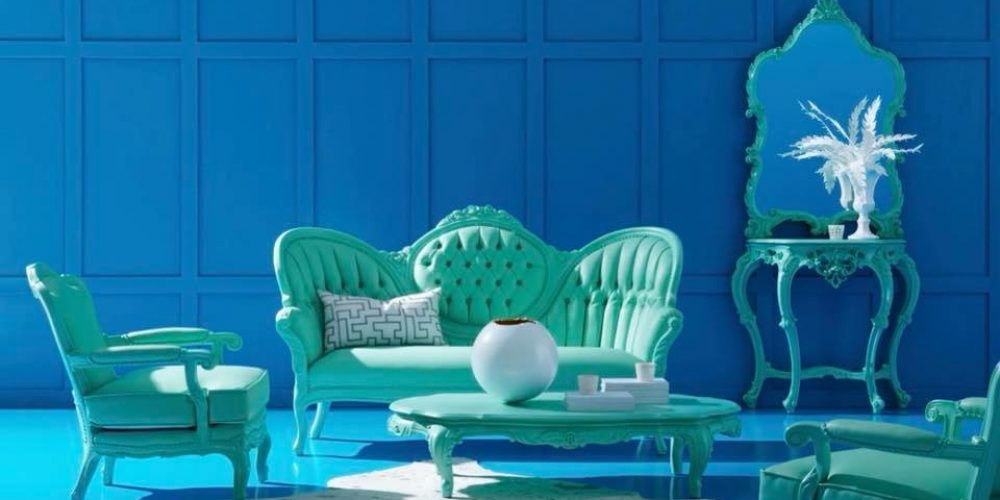 Blue/Green Victorian Furniture