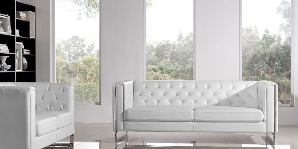 Sofa and loveseat