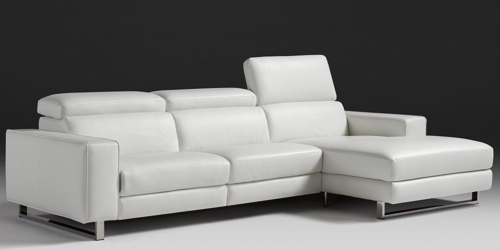 Sectional white