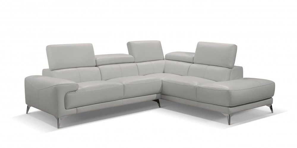 sectional light grey/taupe