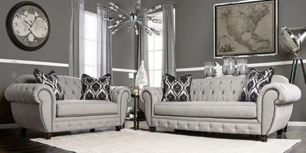 Light grey Sofa Set
