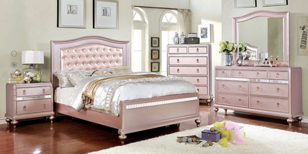 Rose Gold Bedroom